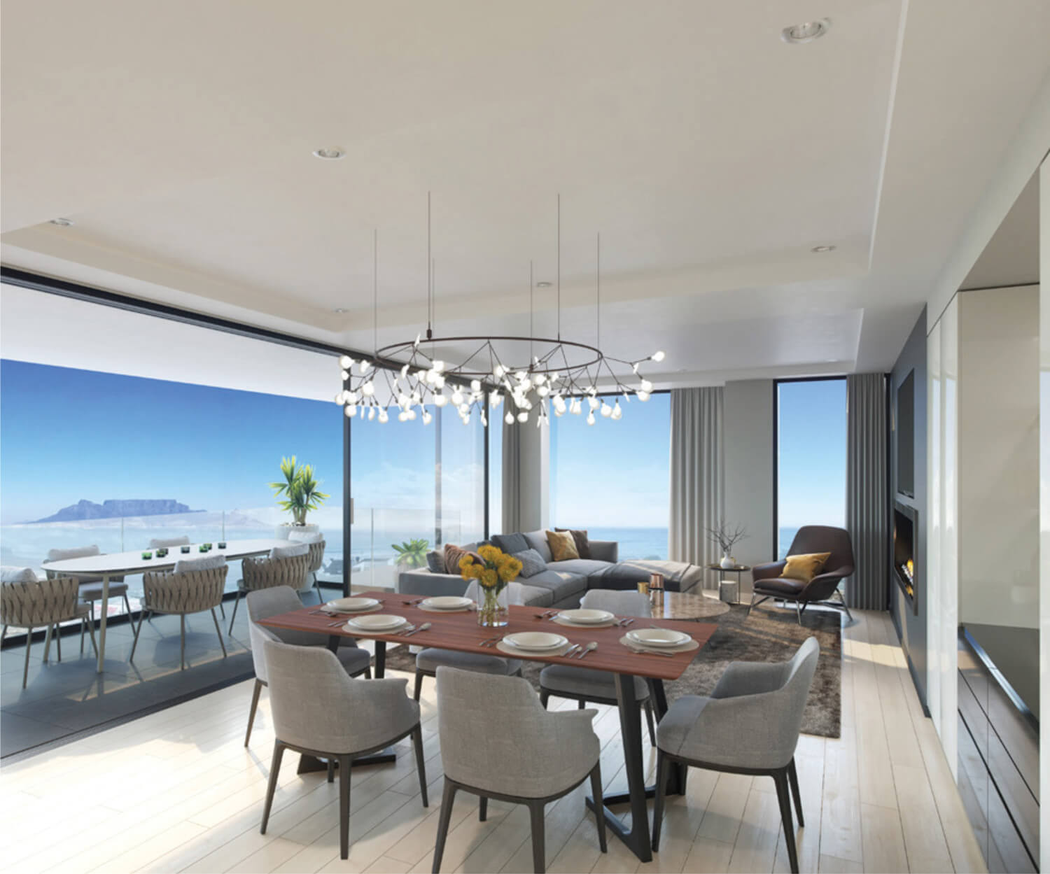 Dining Macaron Blue Residence Investment Opportunities Prodigious