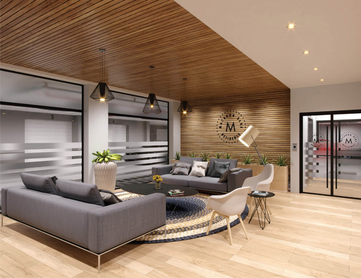 Lobby Macaron Blue Residence Investment Opportunities Prodigious